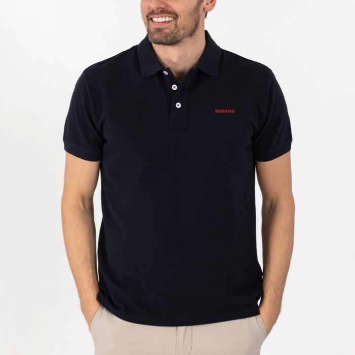 Outwashed Polo Pique